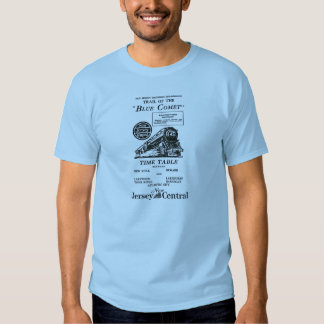 New Jersey Central Blue Comet Train T Shirt