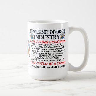 New Jersey Divorce Industry. Classic White Coffee Mug