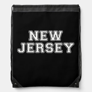 New Jersey Drawstring Bag