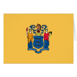 New Jersey Flag Note Card