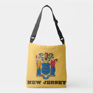 New Jersey Flag Tote Bag