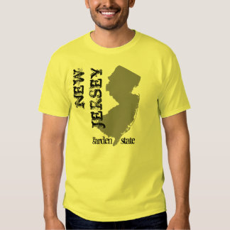 New Jersey: Garden State T-shirts