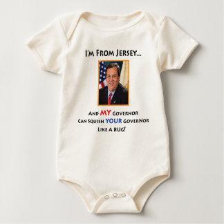 New Jersey Gov. Chris Christie Baby Baby Bodysuit