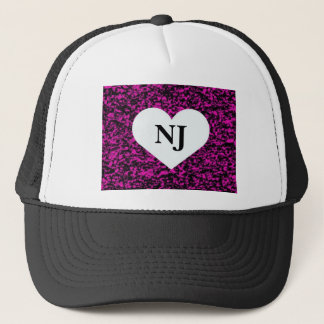 New Jersey Heart Trucker Hat