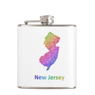 New Jersey Hip Flask