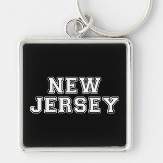 New Jersey Key Ring