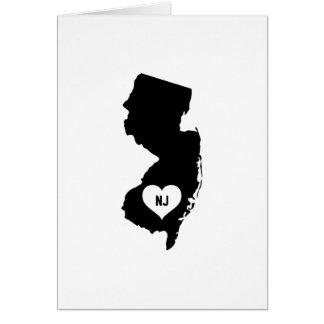 New Jersey Love Card