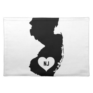 New Jersey Love Placemat