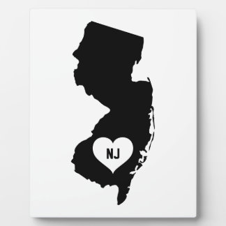 New Jersey Love Plaque