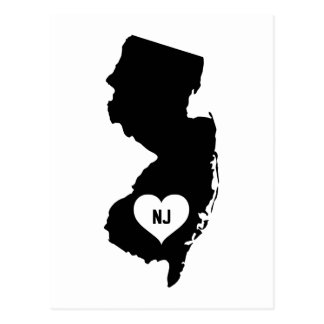 New Jersey Love Postcard
