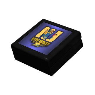 New Jersey (NJ) Small Square Gift Box