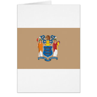 New Jersey  Official State Flag Greeting Card