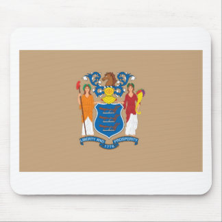 New Jersey  Official State Flag Mouse Pad