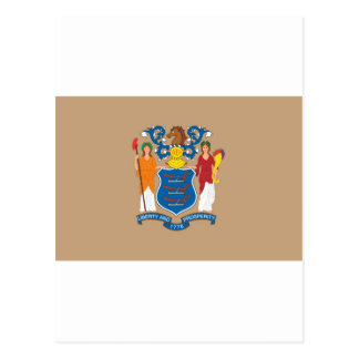New Jersey  Official State Flag Postcard