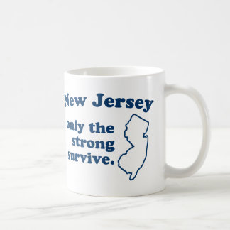 New Jersey Only The Strong Survive Coffee Mug