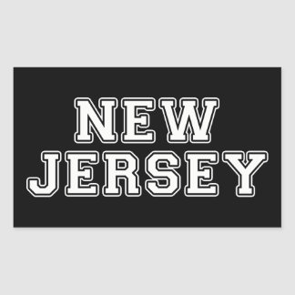 New Jersey Rectangular Sticker