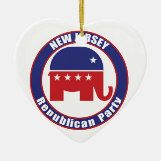 New Jersey Republican Party Ornament