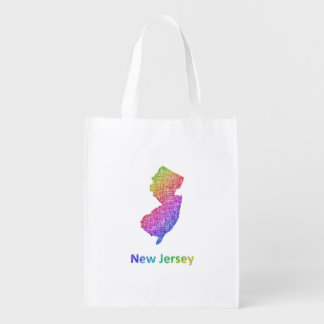 New Jersey Reusable Grocery Bag