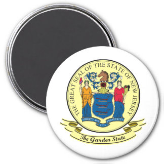New Jersey Seal Refrigerator Magnets