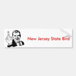 New Jersey State Bird Bumper Sticker