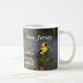 New Jersey state bird Eastern Goldfinch Coffee Mug