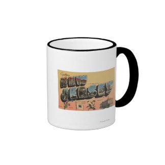 New Jersey (State Capital/Flower/Bird) Mugs