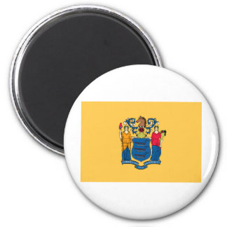 New Jersey State Flag 6 Cm Round Magnet
