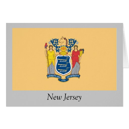 New Jersey State Flag Cards
