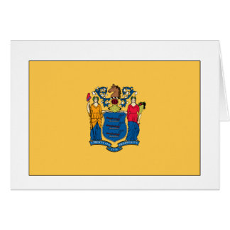 New Jersey State Flag Greeting Card