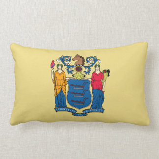 New Jersey State Flag Pillows