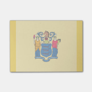 New Jersey State Flag Design Post-It Note