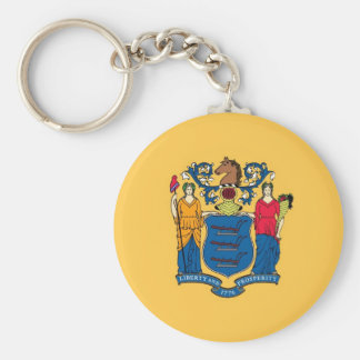 New Jersey State Flag Key Chains