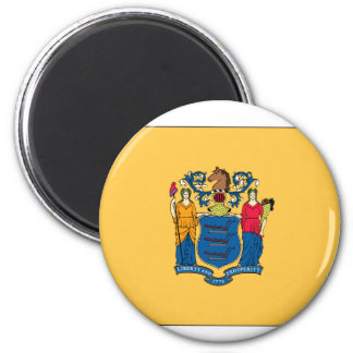 New Jersey State Flag Magnets