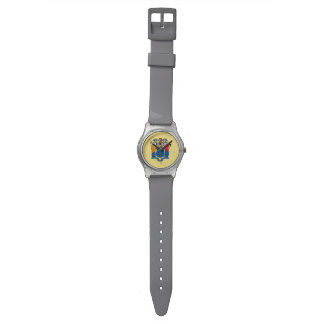 New Jersey State Flag Wristwatches