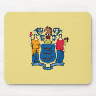 New Jersey State Flag Mouse Pad