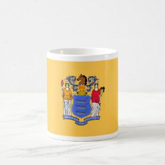 New Jersey State Flag Coffee Mugs