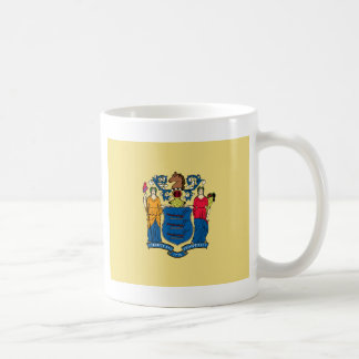 New Jersey State Flag Coffee Mug