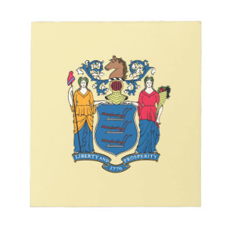 New Jersey State Flag Memo Notepads