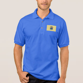 New Jersey State Flag Polo Shirt