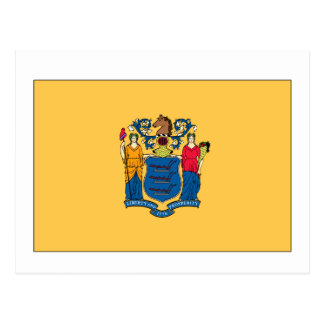 New Jersey State Flag Post Card