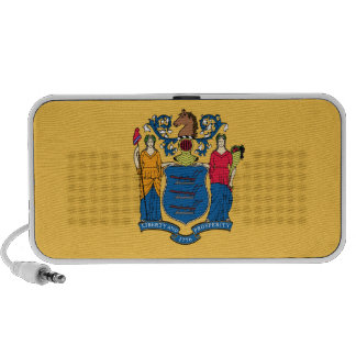 New Jersey State Flag Laptop Speakers