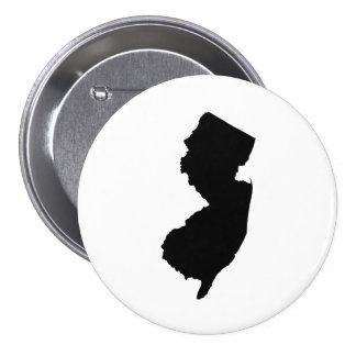 New Jersey State Outline Button