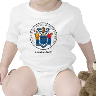 New Jersey State Seal and Motto Tees