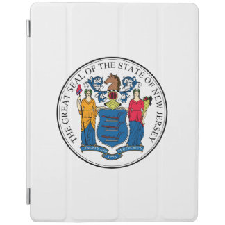 New Jersey State Seal iPad Cover
