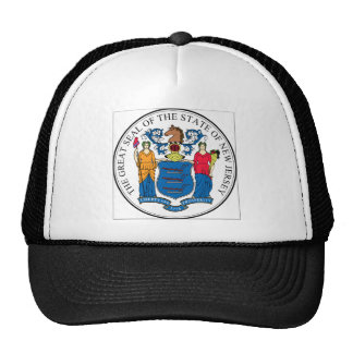New Jersey State Seal Hats