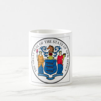 New Jersey State Seal Coffee Mug