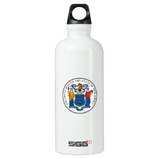 New Jersey State Seal SIGG Traveller 0.6L Water Bottle