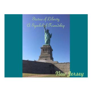 New Jersey Statue of Liberty Postcard