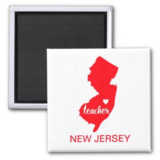 New Jersey Teacher Magnet