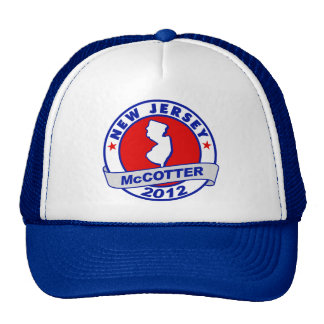 New Jersey Thad McCotter Mesh Hats